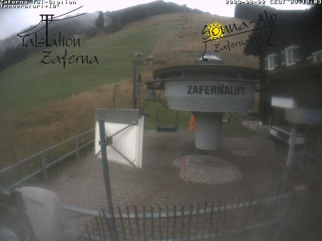Webcam Zafernalift Talstation im Allgäu