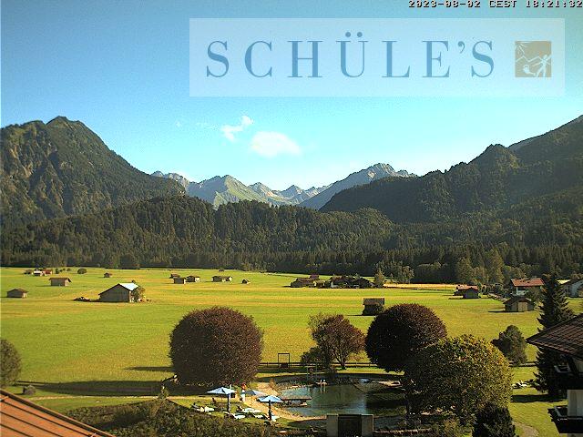 Webcam SCHÜLE'S Gesundheitsresort & Spa im Allgäu