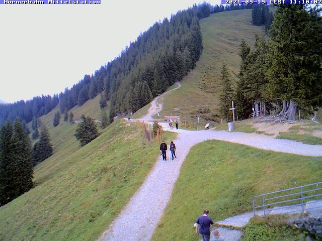 Webcam Hörnerbahn im Allgäu