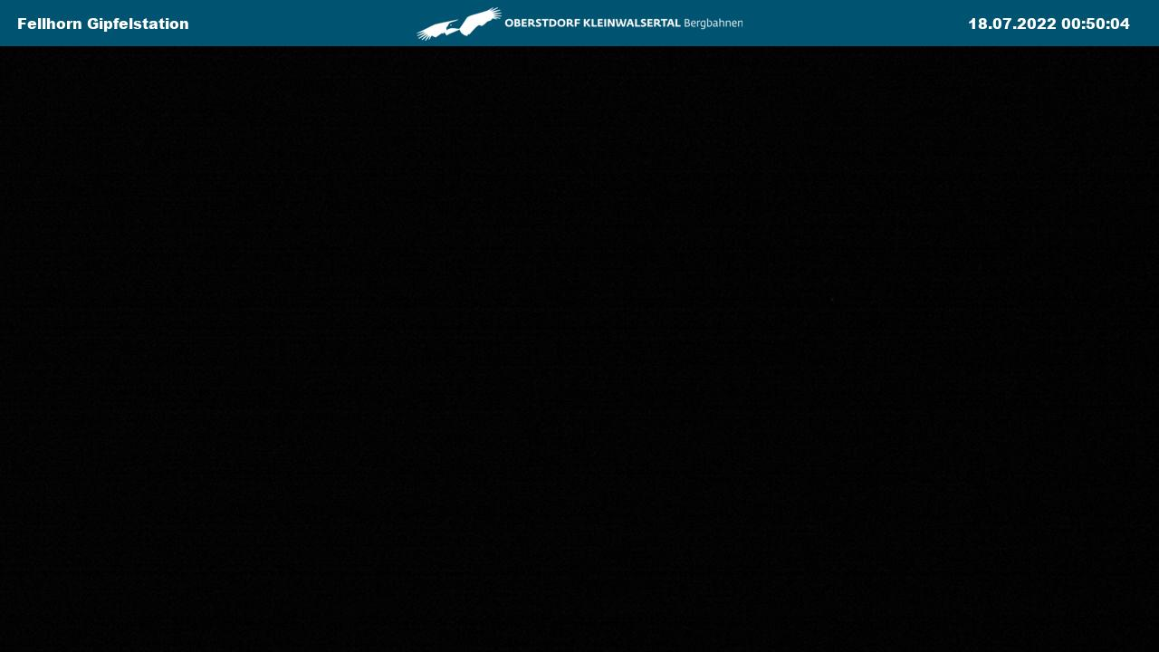 Webcam Fellhornbahn Gipfelstation im Allgäu