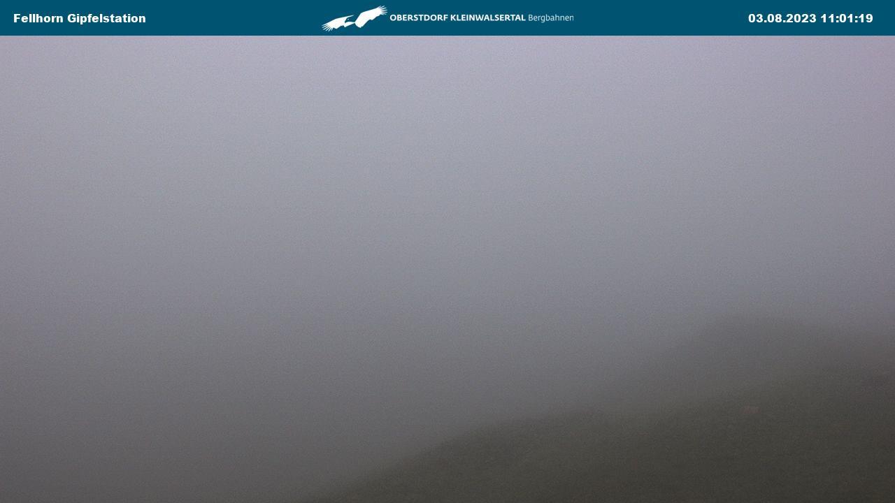 Webcam-Bild: Webcam - Fellhornbahn Gipfelstation