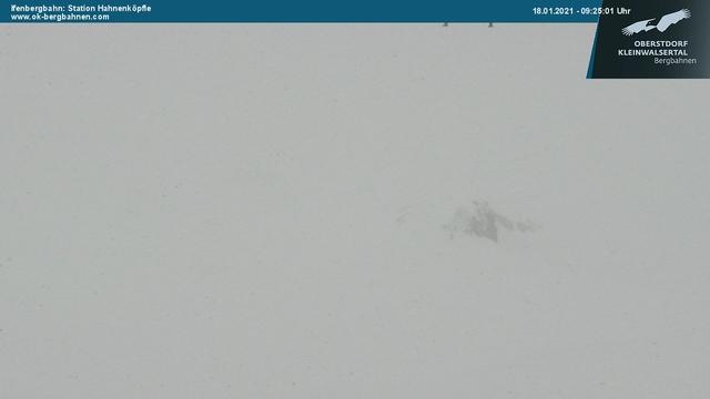 Webcam Ifen Bergbahn im Allgäu