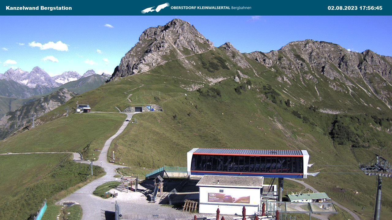 Webcam Kanzelwandbahn