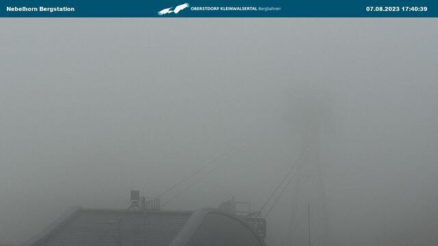 Webcam Nebelhorn Berg im Allgäu