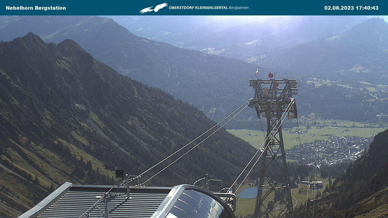 Webcam-Bild: Webcam - Nebelhorn Berg