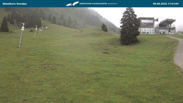 Webcam Nebelhorn Seealpe im Allgäu