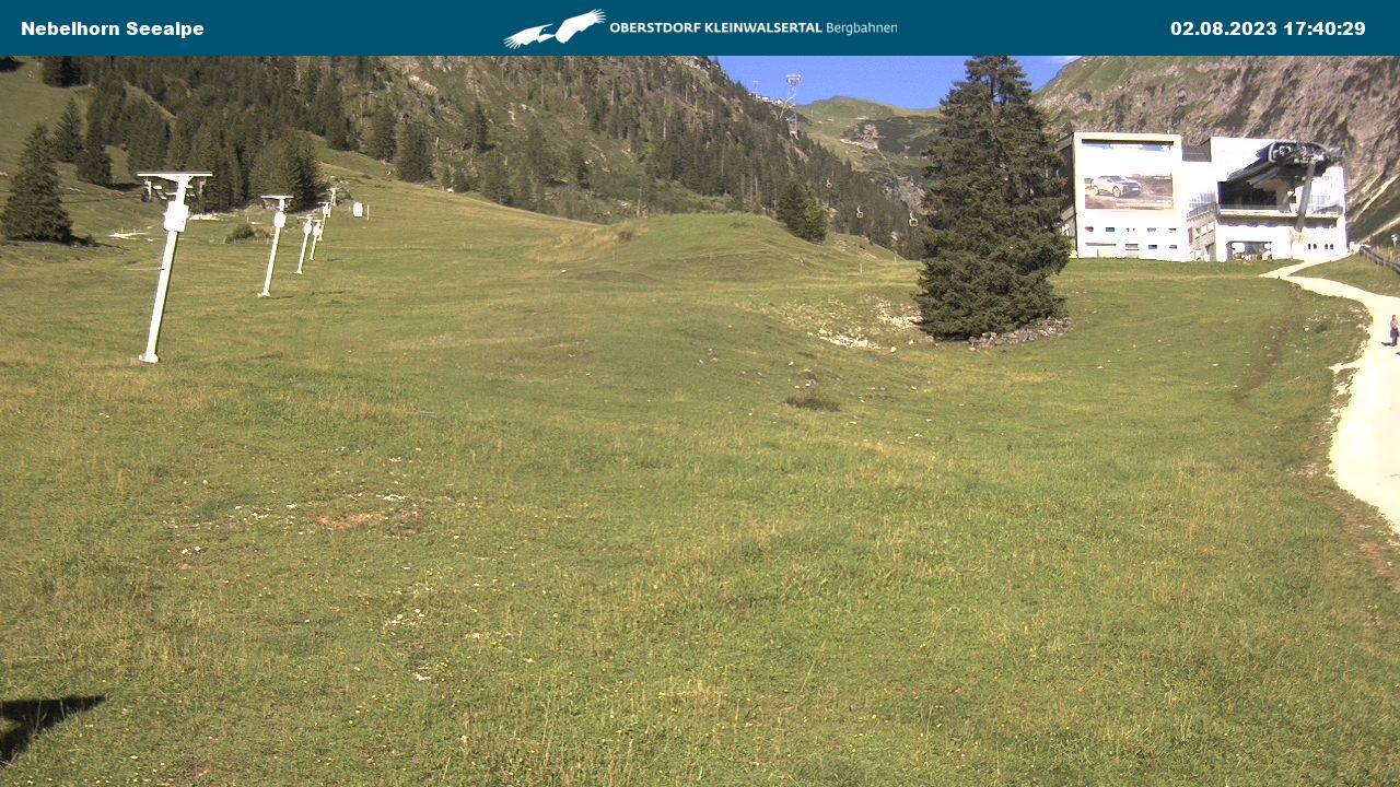 Webcam Nebelhorn Seealpe